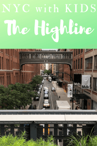 Nyc with Kids Highline