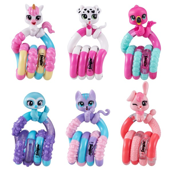 Tangle Pets Junior collectie - tangle toys friemelgoed