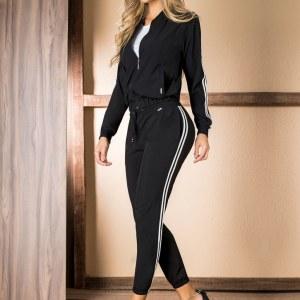 deportivo-negro-blanco-suelto-dos-piezas-pantalon-saco-mujer