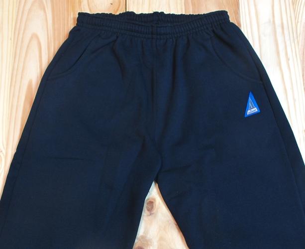 Pantalon de chándal algodónn felpa azul marino para ancianos
