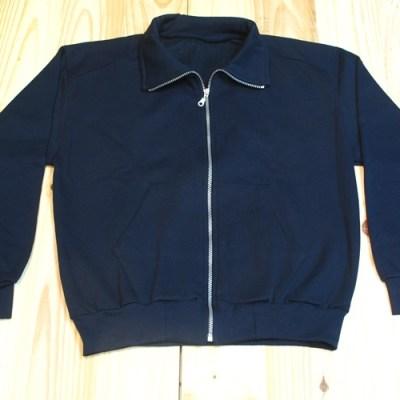 chaqueta de chándal algodón marino