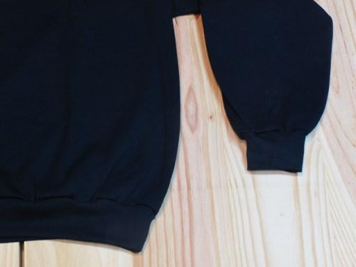 chaqueta de chándal algodón negro