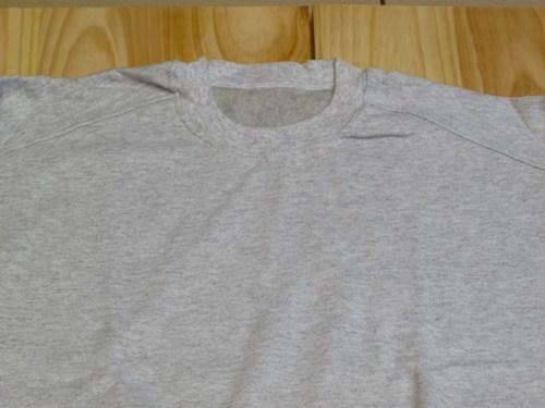 sudadera algodon felpa gris claro