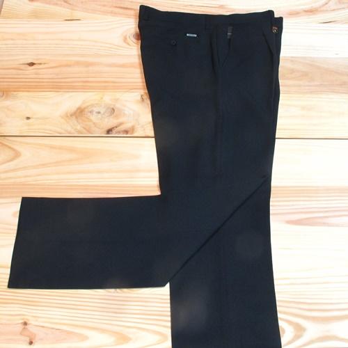 pantalones de vestir para hombre con pinzas marino oscurso