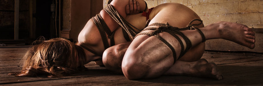 Dirty shibari.