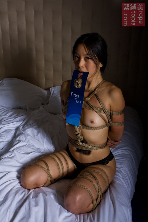 Josephine first shibari experience