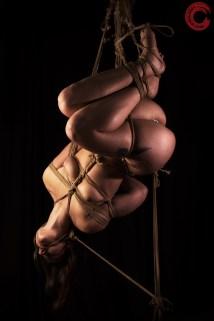 Gorgone suspension bondage.