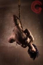 Torturous rope bondage shibari style