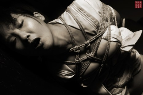 Emotion in shibari.