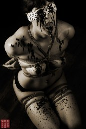 Tied, waxed, bound, clamped