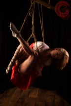Shibari suspension bondage with Artemis Fauna