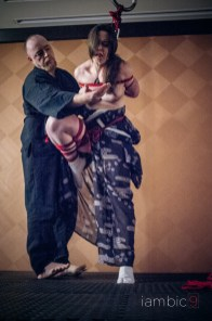 Shibari performance BED 2016