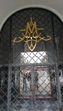 Church door decoration