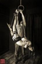 Shibari suspension bondage