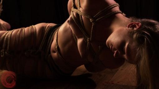 Partial suspension bondage