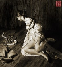 Turn your head, shibari shame