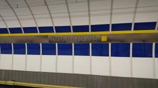 Prague underground station