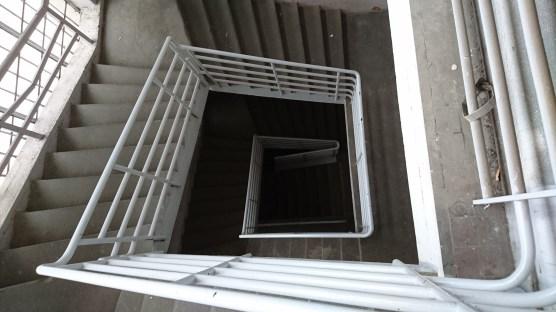 Stairwell in Prague Location.