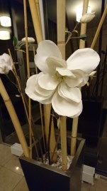 Flowers and bamboo