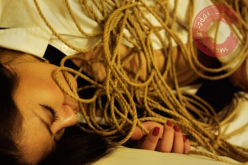 Rope emotion. Kinbaku feeling. Shibari thoughts.