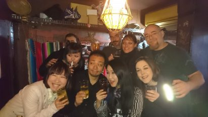 Drinking in Golden Gai