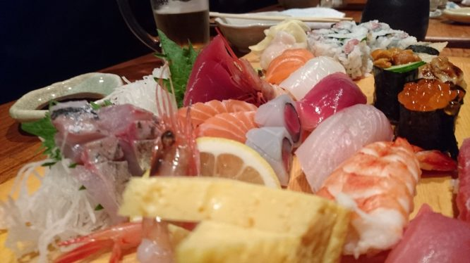 And some sushi