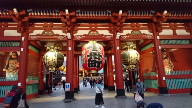 Asakusa Temple gates