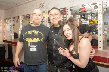 Us and Tony M Backstage at the Bondage Expo Dallas Aftershow.