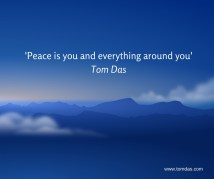 Peace is you