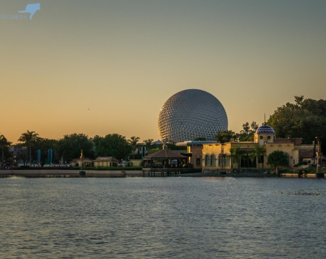 Sunset at Epcot