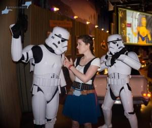 Star Wars Breakfast at Sci-Fi Dine-In