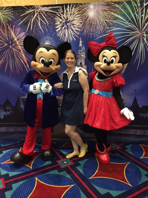 A couple of the people Sharla works with to help make your vacation magical (Photo courtesy of Sharla)