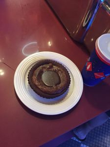 The life changing mud pie (picture via Howie)
