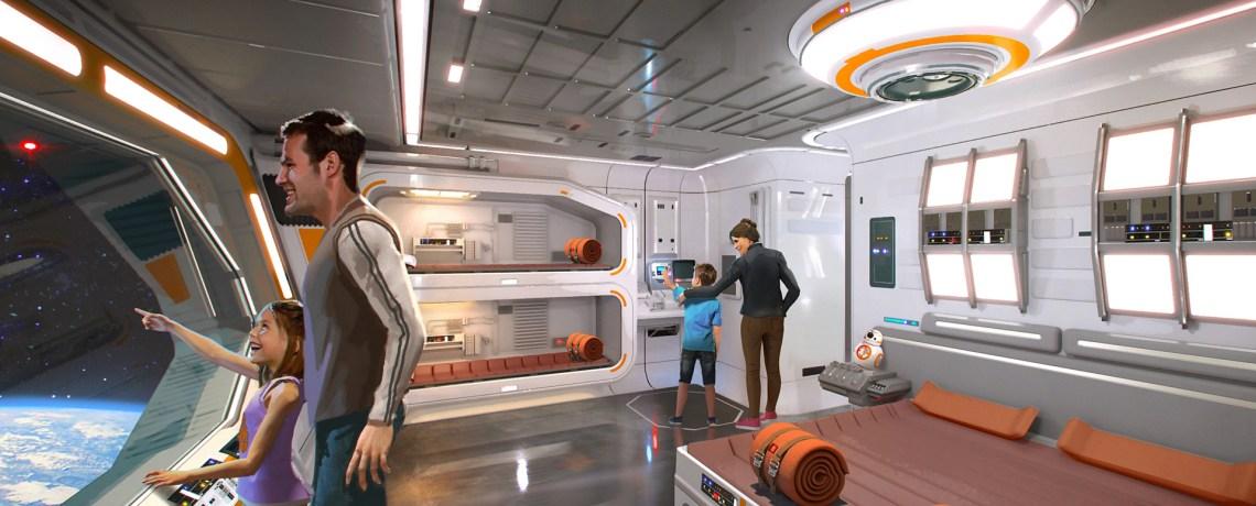 Star Wars Themed Hotel - © Disney