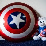 Captain America Shield with Fenway