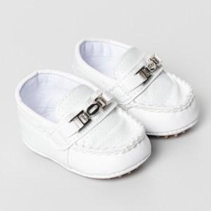 mocassim bebe branco
