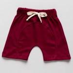 shorts bebe algodão