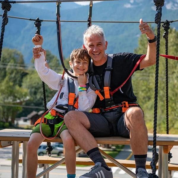 rope runner squamish family activities