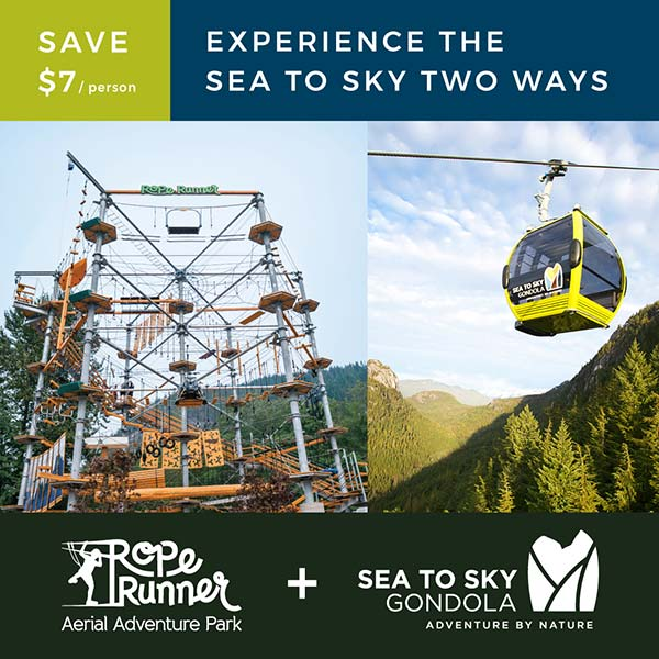 Rope Runner Squamish x Sea to Sky Gondola