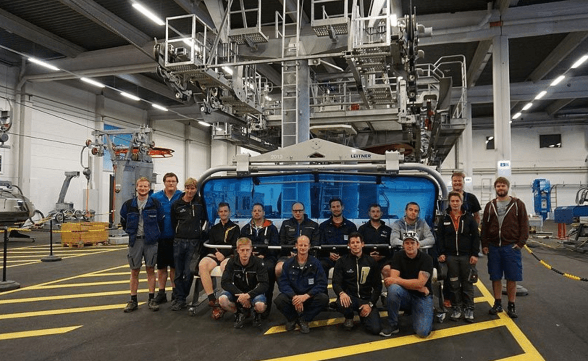 Career on the mountain with the BFI – specialist training for cable cars