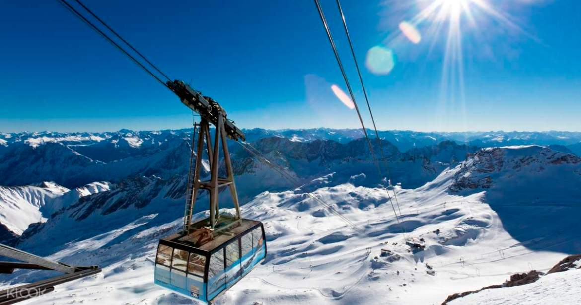 Seilbahn Zugspitze tickets: Germany 2020 at ease