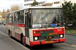 Papercraft del autobus Karosa B732 (DP Praha, 5870). Manualidades a Raudales.