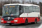 Papercraft recortable del autobus SOR BN 8 (DP Praha, 3143). Manualidades a Raudales.