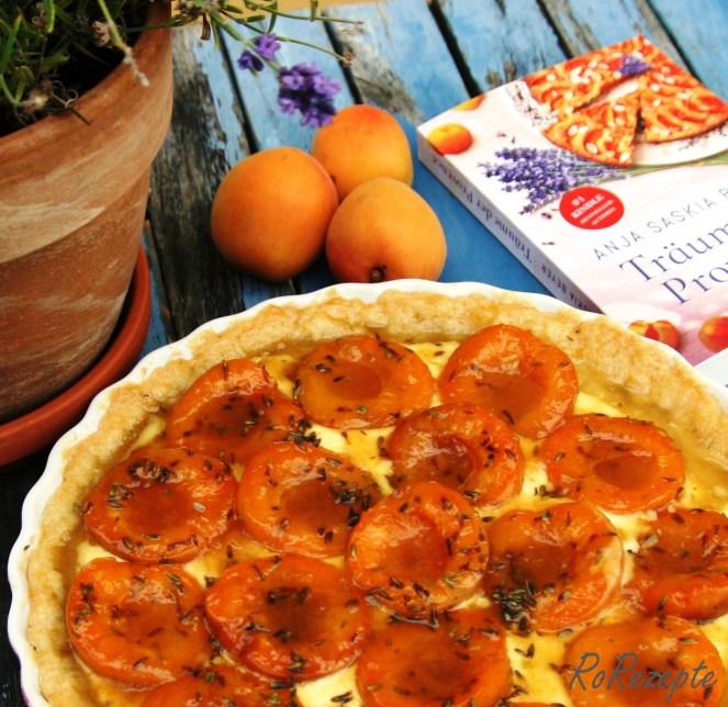 Aprikosentarte mit Lavendel - Träume der Provence