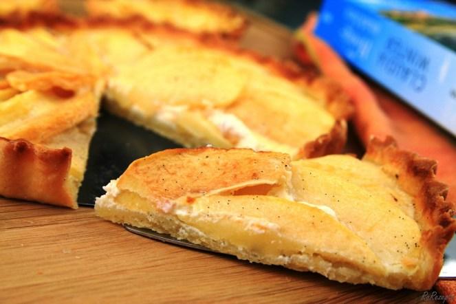 Camillas Tarte aux pommes (Französische Apfeltarte) - Das Honigmädchen