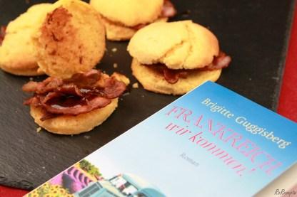 Demoiselles mit Bacon und Kaffeesoße - Frankreich, wir kommen!