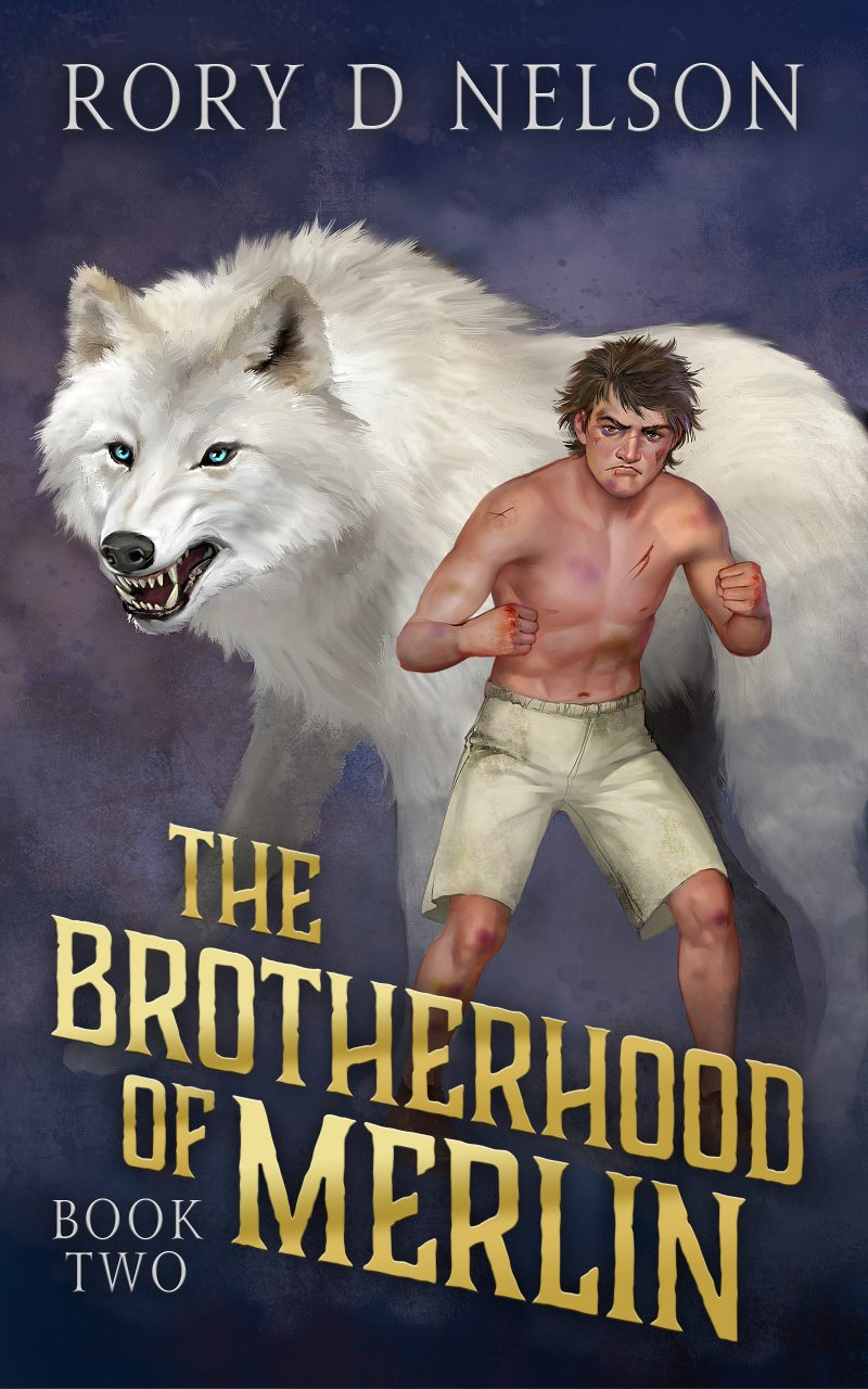 COVER - The Brotherhood of Merlin: Book Two - Lycenea