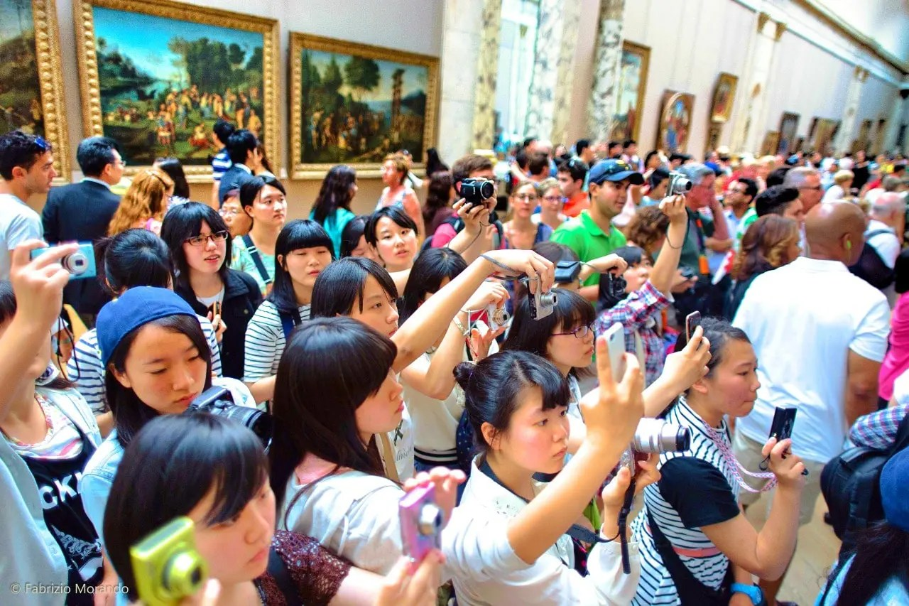 Beat Europe's crowds like this one in Paris' Louvre