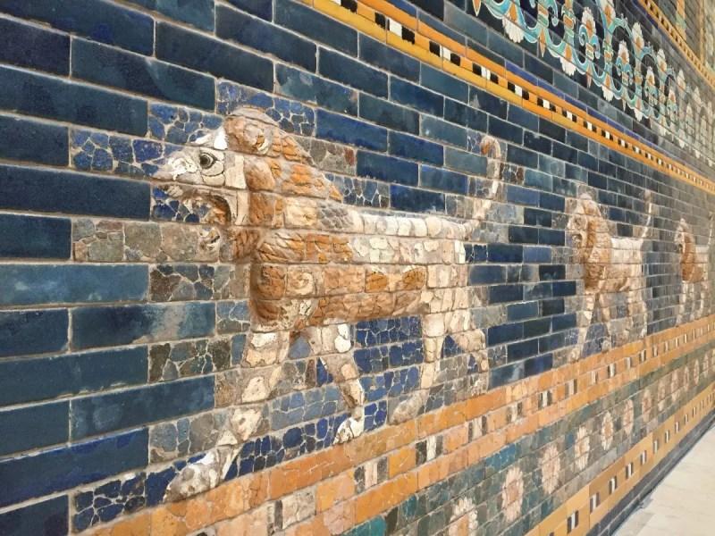 2018 European travel review: Ishtar Gate in Pergamon Museum.