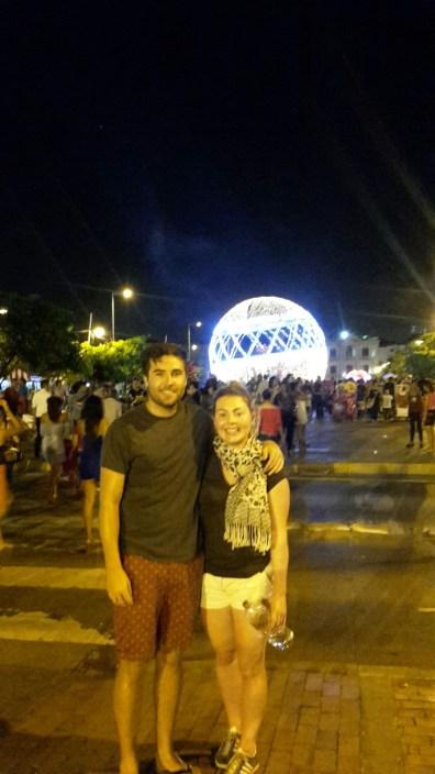 Cartagena Christmas Lights 2016